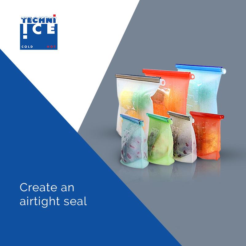 Create an airtight seal.